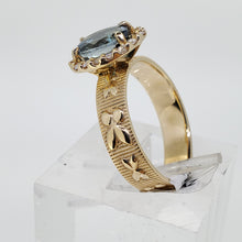 Load image into Gallery viewer, London Blue Topaz  Diamond Ring
