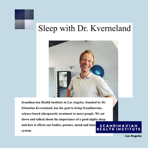hastens sleep spa interview with dr sebastian kverneland dc chiropractor for the stars in los angeles