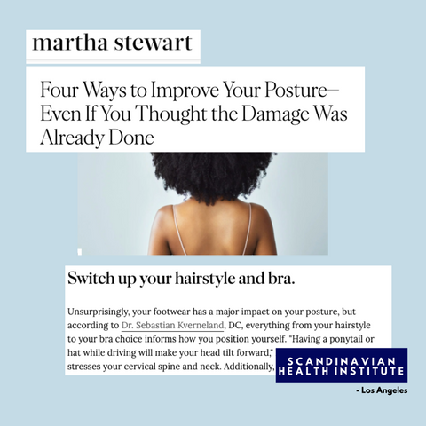 martha stewart article about chiropractor in los angeles celebrity scandinavian health institute