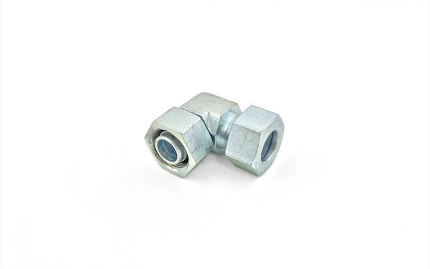 Steel DIN 2353 Tube Fittings (4) ' Female Connector / Standpipe Reducer / Adjustable Elbow
