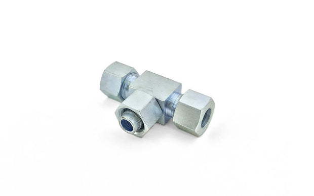 Steel DIN 2353 Tube Fittings (5) ' Adjustable Branch Tee / Welding Nipple with O-Ring / Blanking Plug with O-Ring