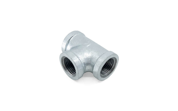 Galvanized Malleable Iron Fittings (3) ' Female Tee / Female Union / Square Plug / Round Cap