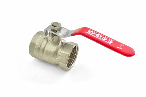 Brass Nickel Plated Ball Valve
