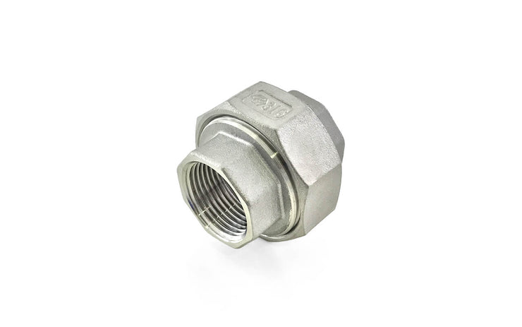 Stainless Steel 316 Threaded Fittings (4) ' Hex Hose Nipple / Female Tee (BSP) / Female Tee (NPT) / Female Union