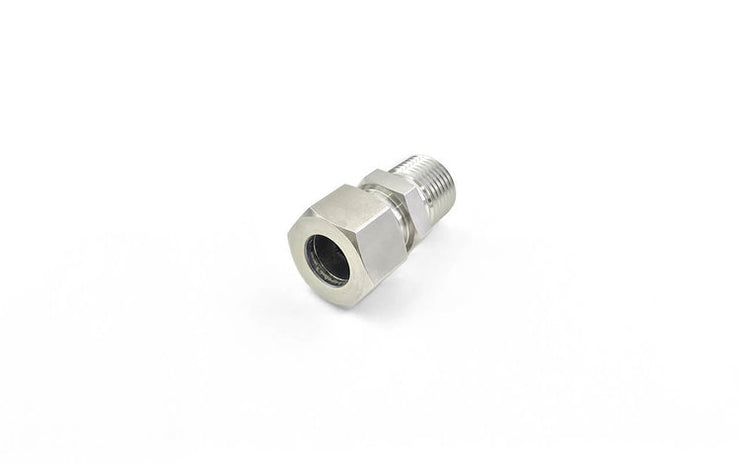 Stainless Steel 316 DIN 2353 Tube Fittings (3) ' Male Connector (NPT)