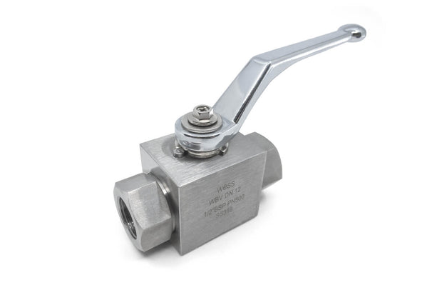 Hydraulic Stainless Steel 316 Ball Valve