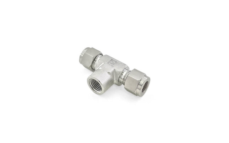 Stainless Steel 316 Instrumentation Tube Fittings (4) ' Reducer / Male Branch Tee / Female Branch Tee / Male Run Tee