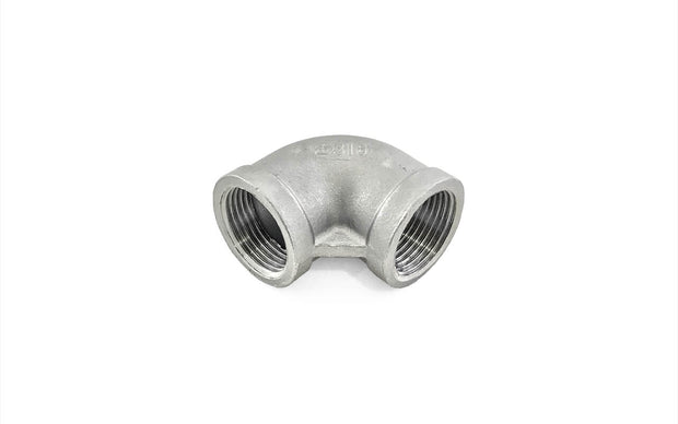 Stainless Steel 316 Threaded Fittings (3) ' Female Elbow (BSP) / Female Elbow (NPT) / Street Elbow (BSP) / Street Elbow (NPT)