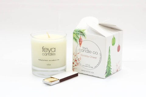 Feya Candle Co. - Holiday Cheer Candle
