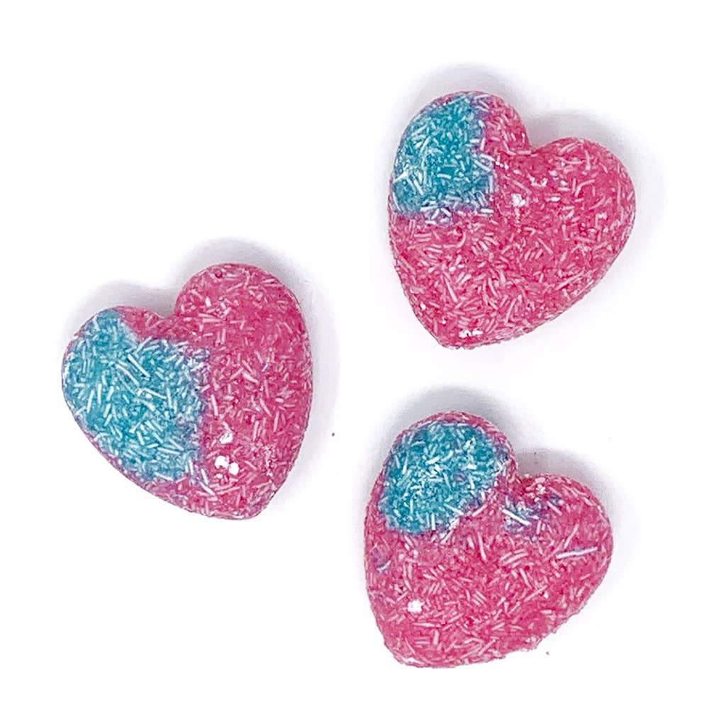 Feeling Smitten - Cotton Candy Heart Shampoo + Conditioner Bar