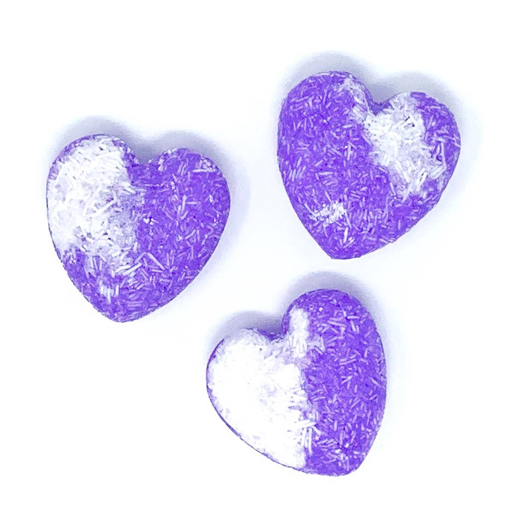 Feeling Smitten - Lavender Vanilla Heart Shampoo + Conditioner Bar