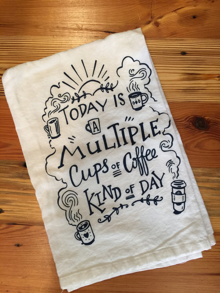 Multiple Cups Towel