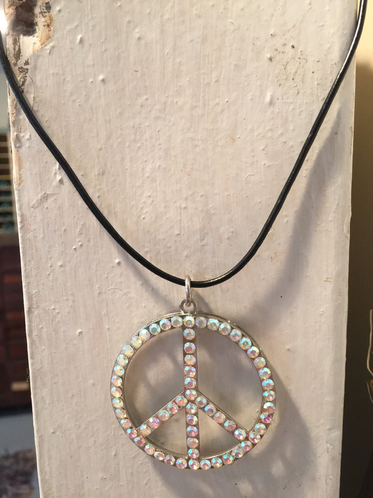 Peace Bling Necklace