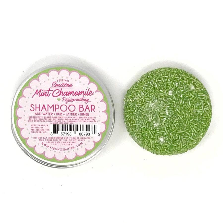 Feeling Smitten - Rejuvenating Mint Chamomile Shampoo + Conditioner Bar