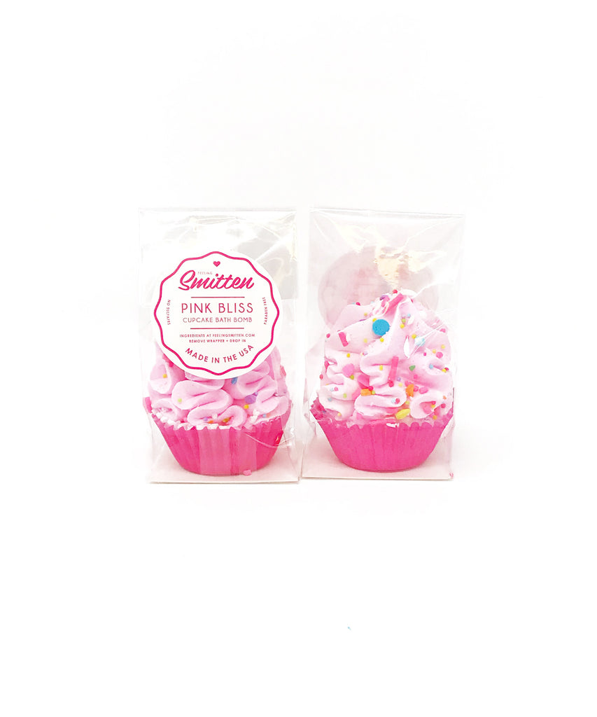 Feeling Smitten - Mini Pink Bliss Cupcakes