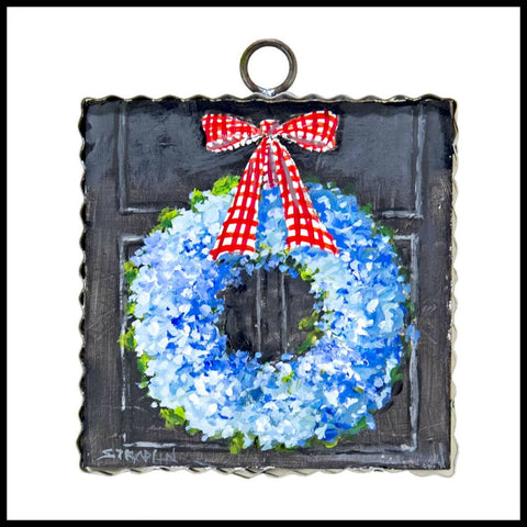 All American Wreath Sign