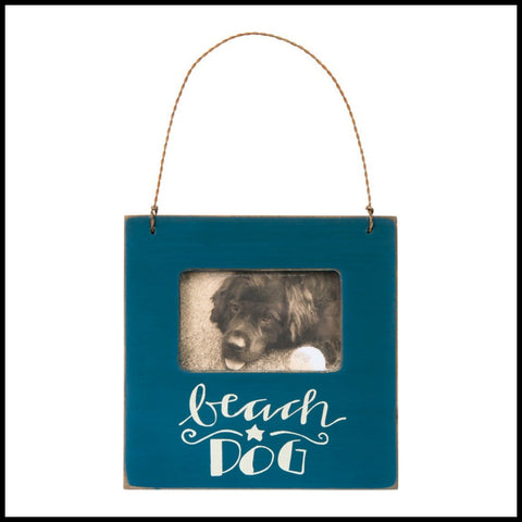 """Beach Dog"" Mini Frame"