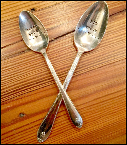 """Big Spoon/little spoon  Set"