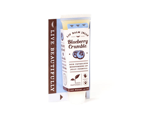 Live Beautifully - Blueberry Crumble Lip Balm Jelly