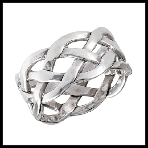 Celtic Weave Sterling Ring