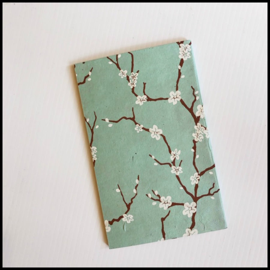 Cherry Blossom Eco Friendly Paper Journal