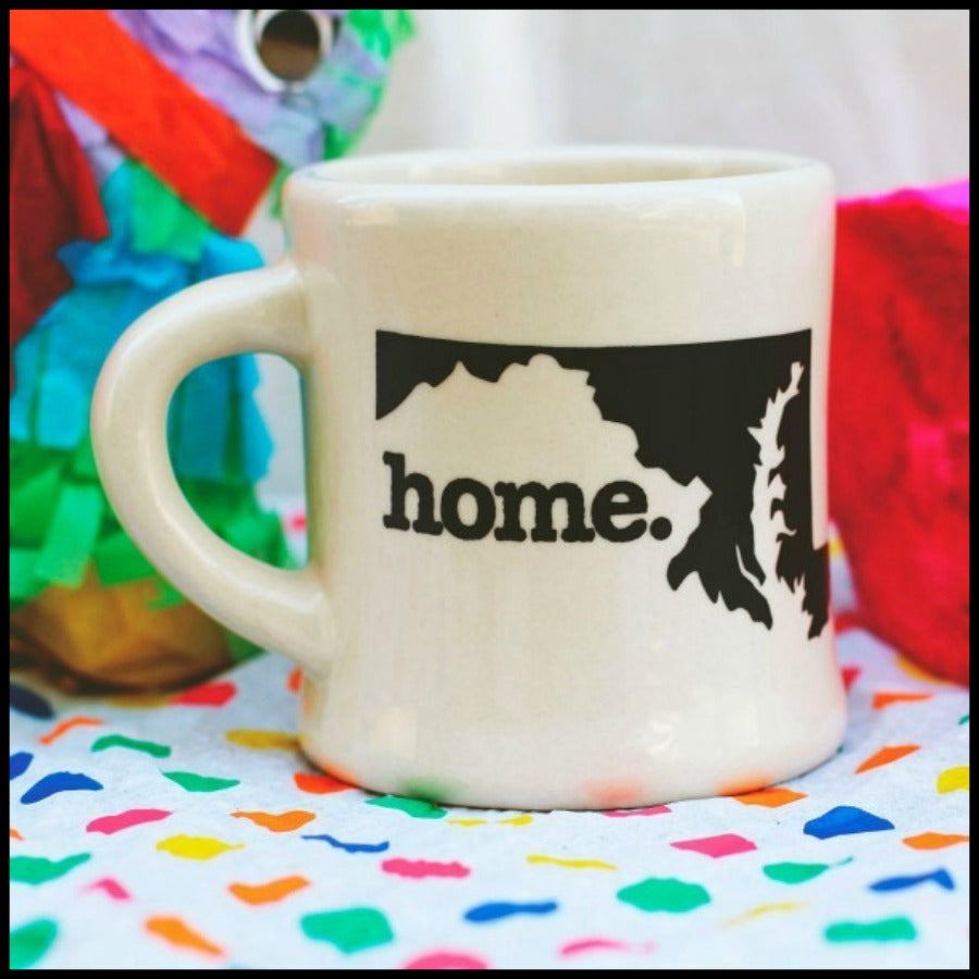 West Virginia (WV) Diner Style Mug