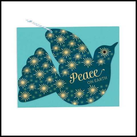 Dove Ornament/Holiday Card