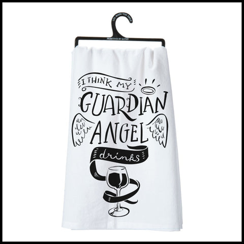 """I think Guardian Angel..."" Towel"