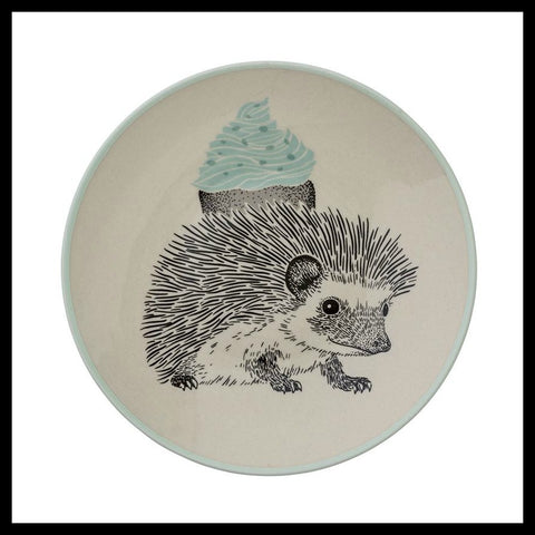 Hedgehog Plate, Mint