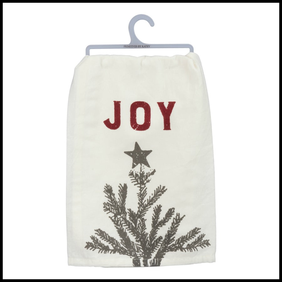 """JOY"" holiday towel"