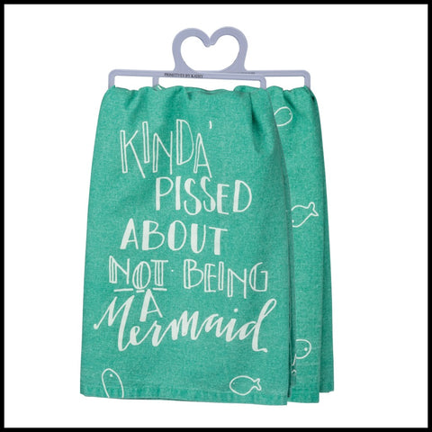 Kinda Pissed About Not Being a Mermaid Towel