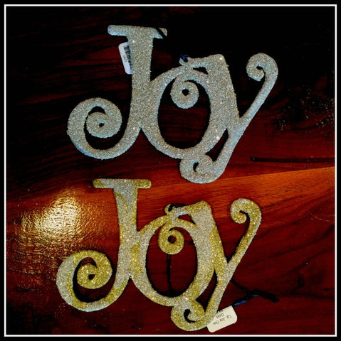 Large Joy Ornament
