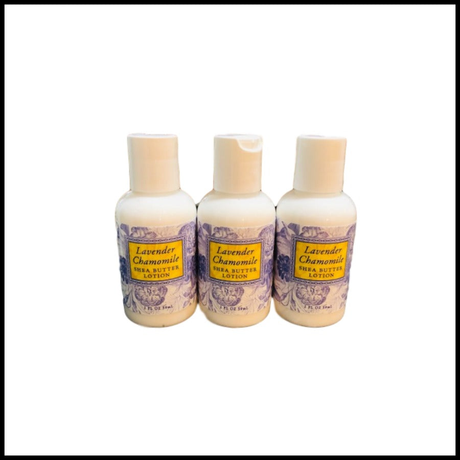 Lavender Chamomile Shea Butter Lotion, 2oz Travel