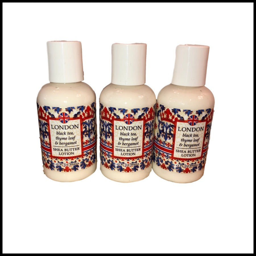 London Shea Butter Lotion, 2oz. Travel Size