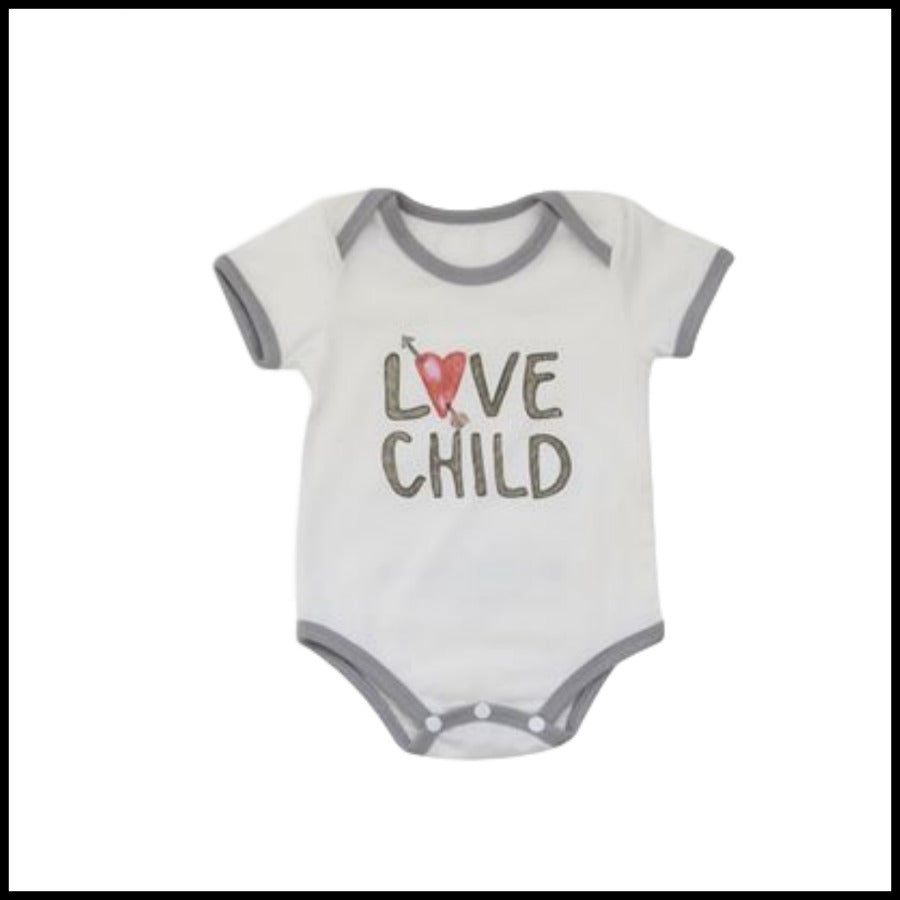 """Love Child"" Onsie"