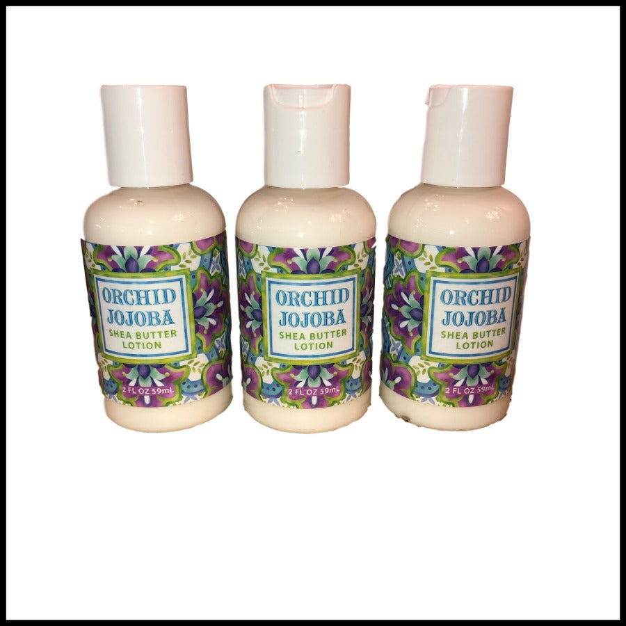 Orchid Jojoba Shea Butter Lotion, 2oz Travel