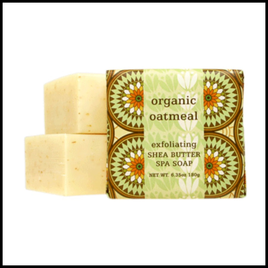 Organic Oatmeal Exfoliating Shea Butter Soap
