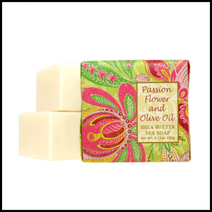 Passion Flower Olive Oil Shea Butter Soap
