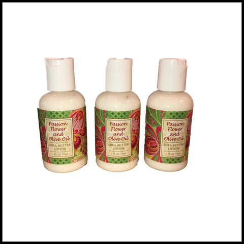 Passion Flower Shea Butter Lotion, 2oz Travel