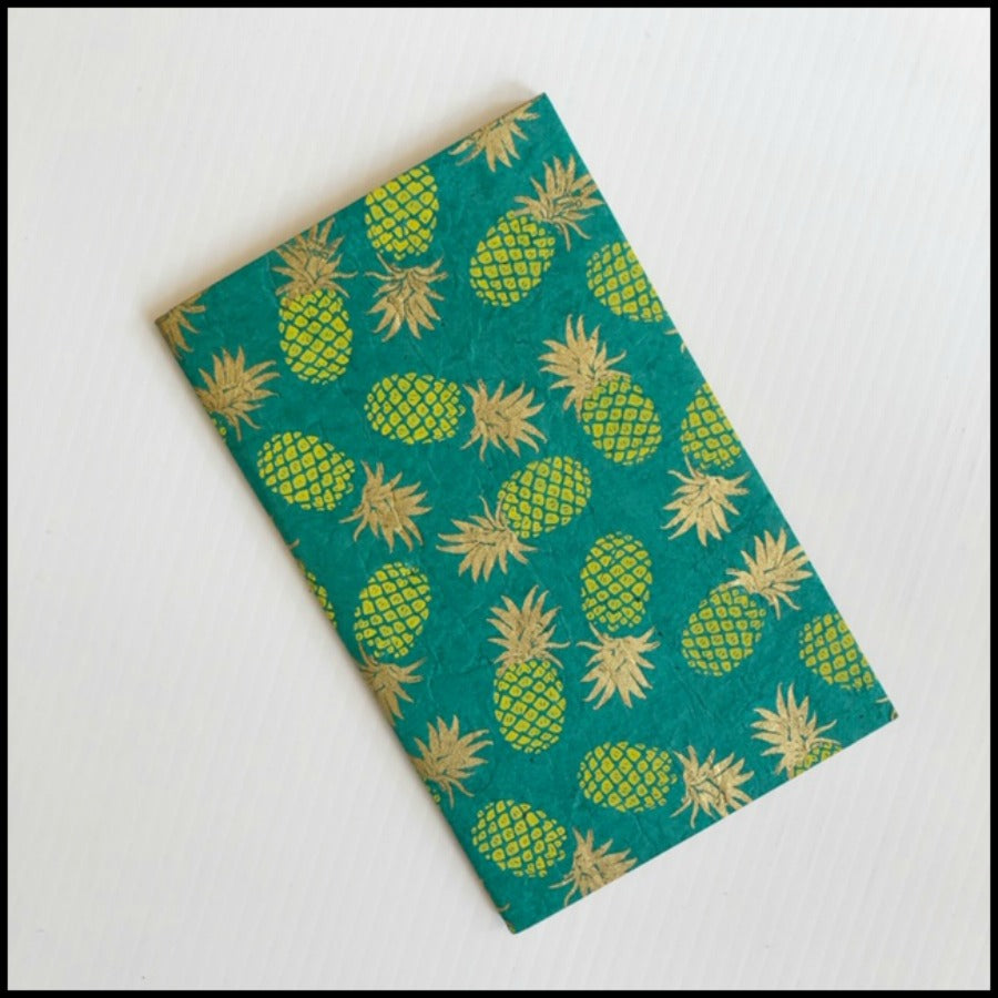 Pineapple Eco Friendly Paper Journal
