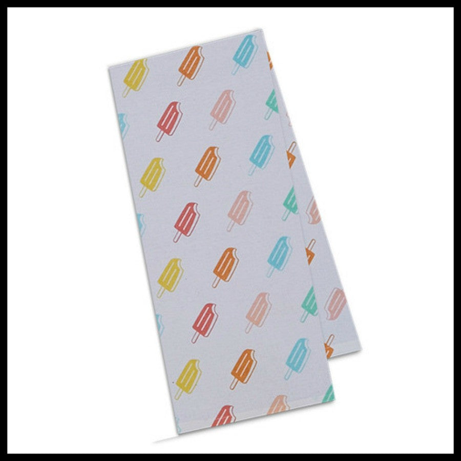Popsicle Print Towel