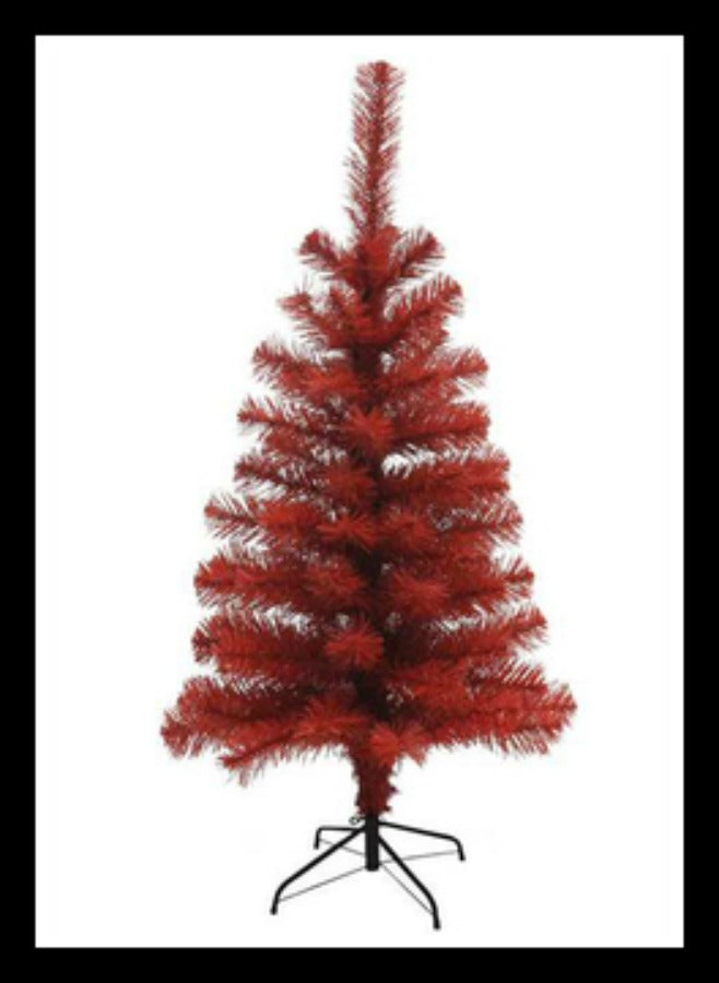 Red Christmas Tree