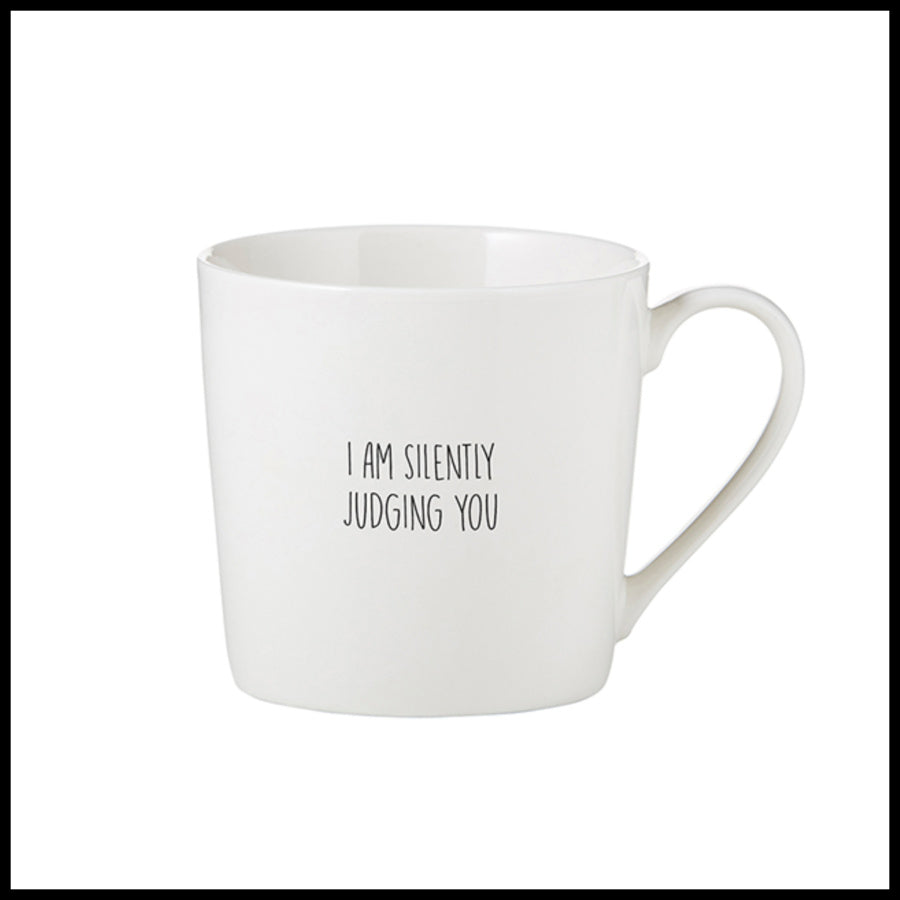 """I Am Silently Judging You"" Mug"