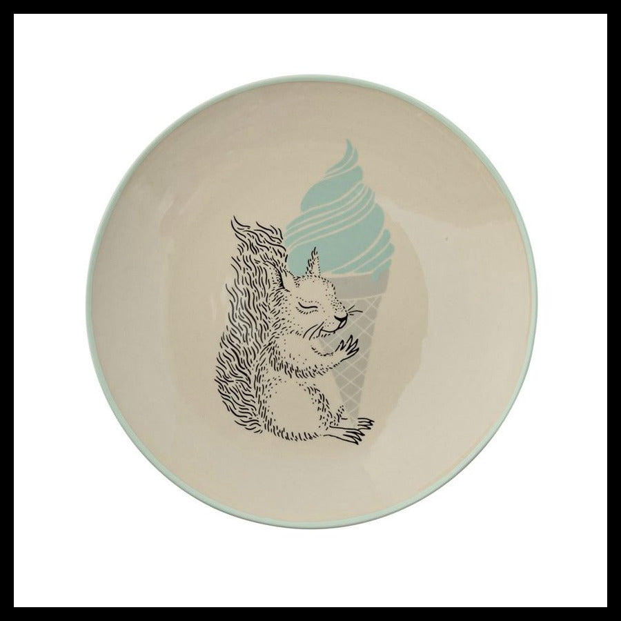 "Squirrel 10"" Plate, Mint"