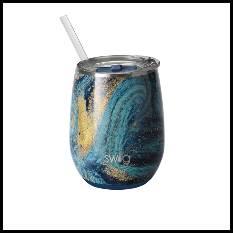 Starry Night SWIG - 14 oz. Stemless Cup