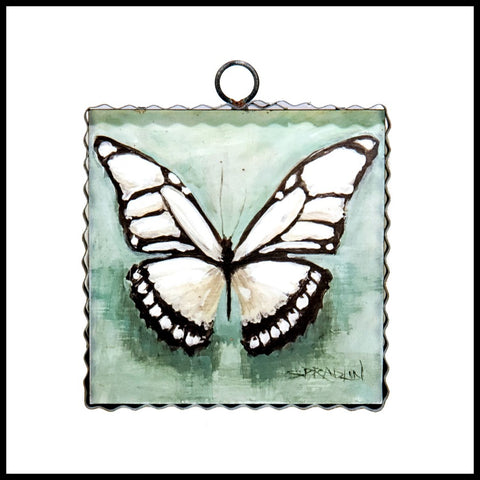 White Butterfly Sign