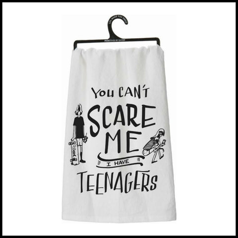 """You Can't Scare Me"" Towel"