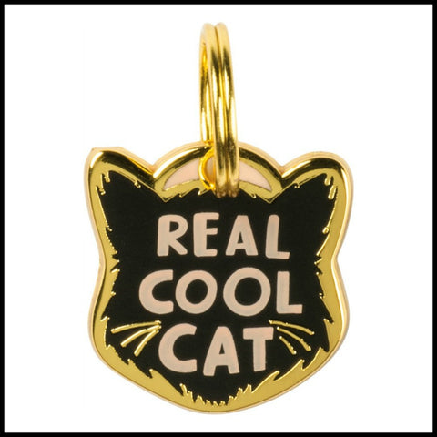 Collar Charm - Real Cool Cat