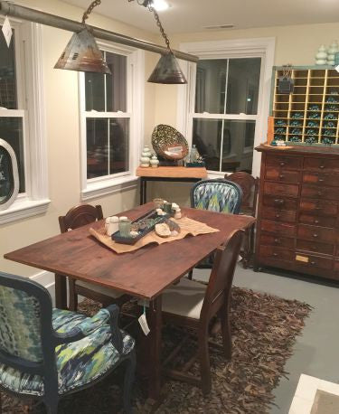 Vintage Trestle Dinner Table