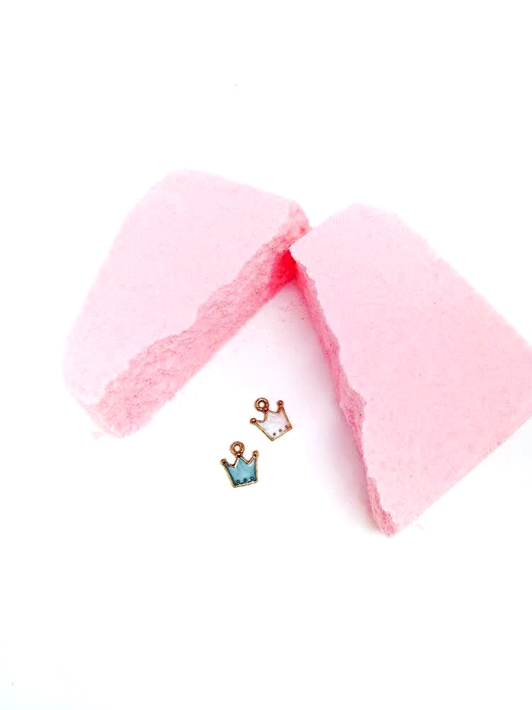 Feeling Smitten - Princess Pink Grapefruit Surprise Bath Bomb Bags